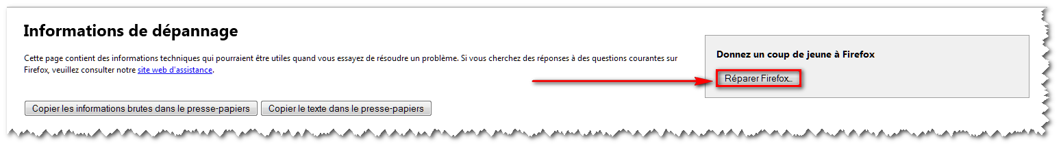 Réparer Firefox - 001