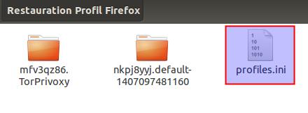 Profiles Firefox